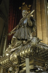 Jan Nepomuk monument, Prague Cathedral