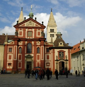 St. Georges Basilica, Prague Castle