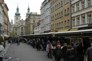 Marketplace in Prague