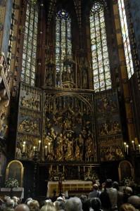 Altar, St. Mary\'s Basilica (Krakow)
