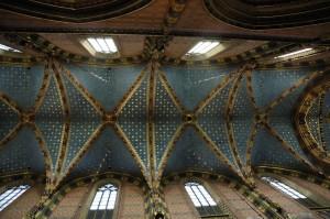 Ceiling, St. Mary\'s Basilica (Krakow)
