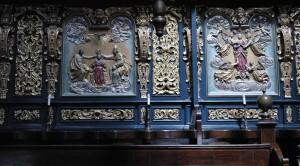 Choir detail in St. Mary\'s Basilica (Krakow)
