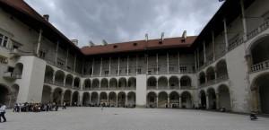 Wawel Palace courtyard (Krakow)