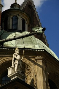 Gargoyle on Wawel Cathedral (Krakow)