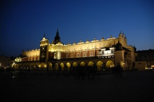 Cloth Hall at night (Krakow)