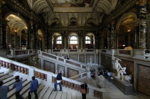 Museum staircase (Vienna)