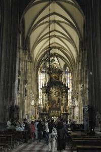 St. Stefan\'s nave (Vienna)