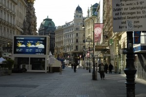 Graben Sunday morning (Vienna)
