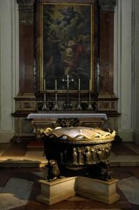 Mozart baptismal font (Salzburg)