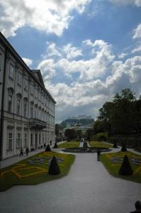 Mirabell/View of Hohensalzburg (Salzburg)