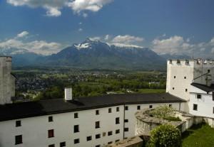 Untersberg from Hohensalzburg