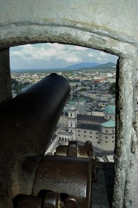 Guns over the Salzach (Salzburg)