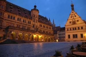 Rothenburg main square
