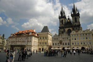 Main square in Prague