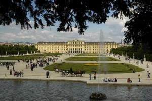 Schoenbrunn Rear (Vienna)