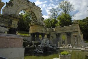 Schoenbrunn Roman ruins (Vienna)