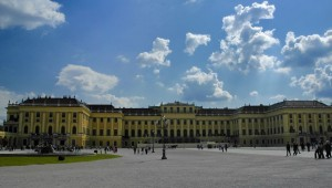 Schoenbrunn front (Vienna)